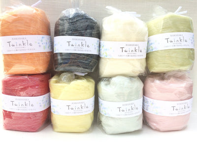 Hamanaka Twinkle Needle Felting Wool - Green