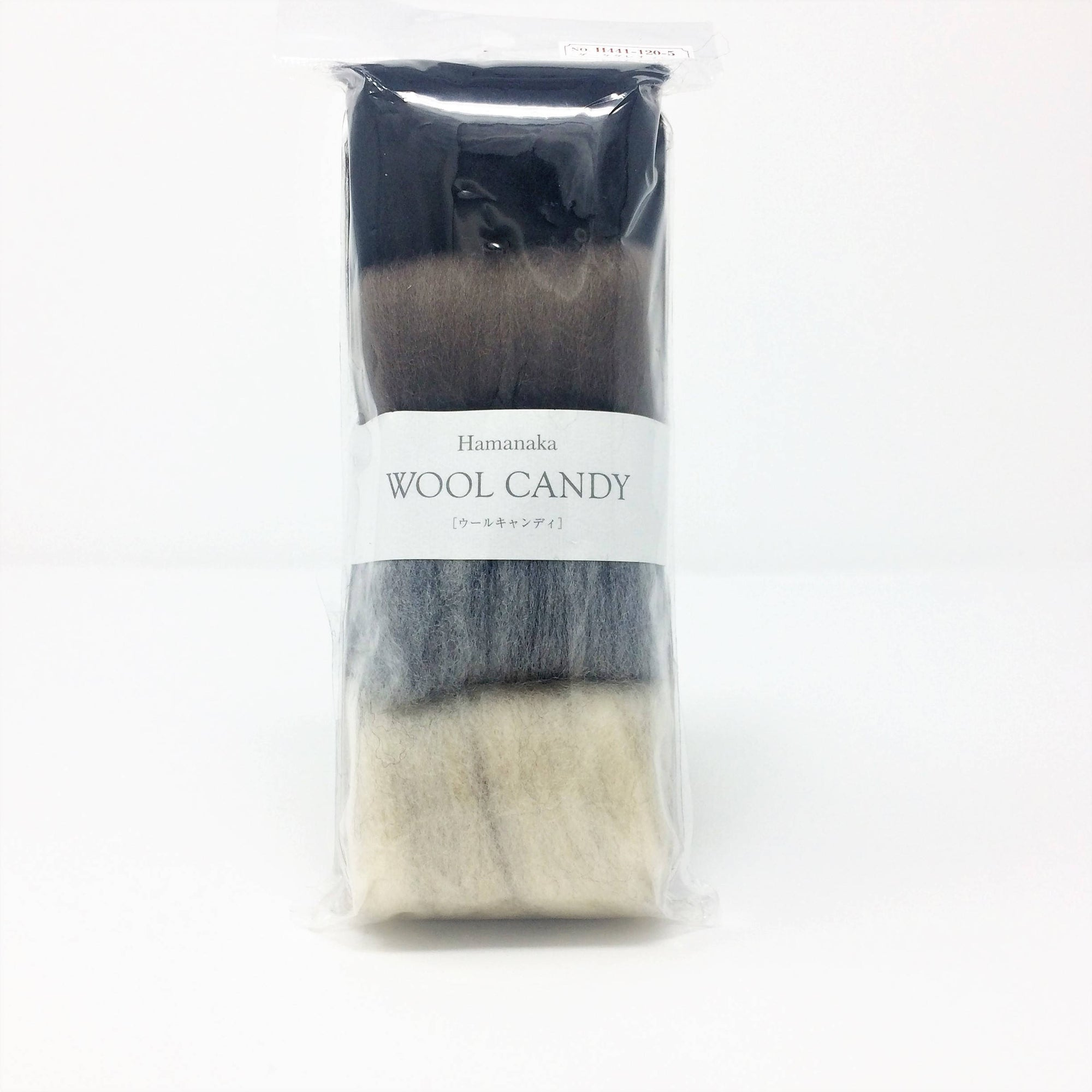 Hamanaka Wool Candy 4 Colour Set- Natural Tones