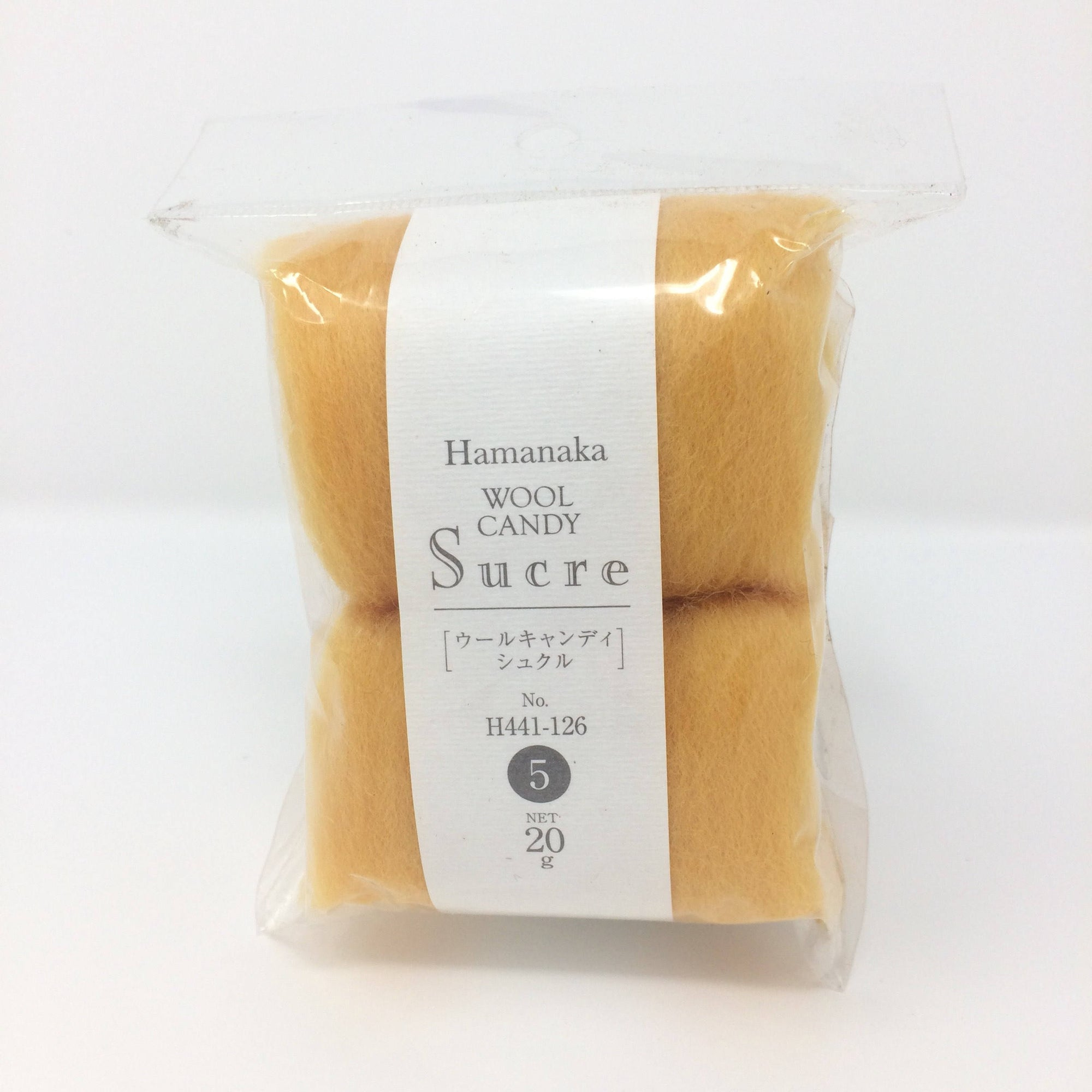 Hamanaka Wool Candy Sucre - Orange 20g
