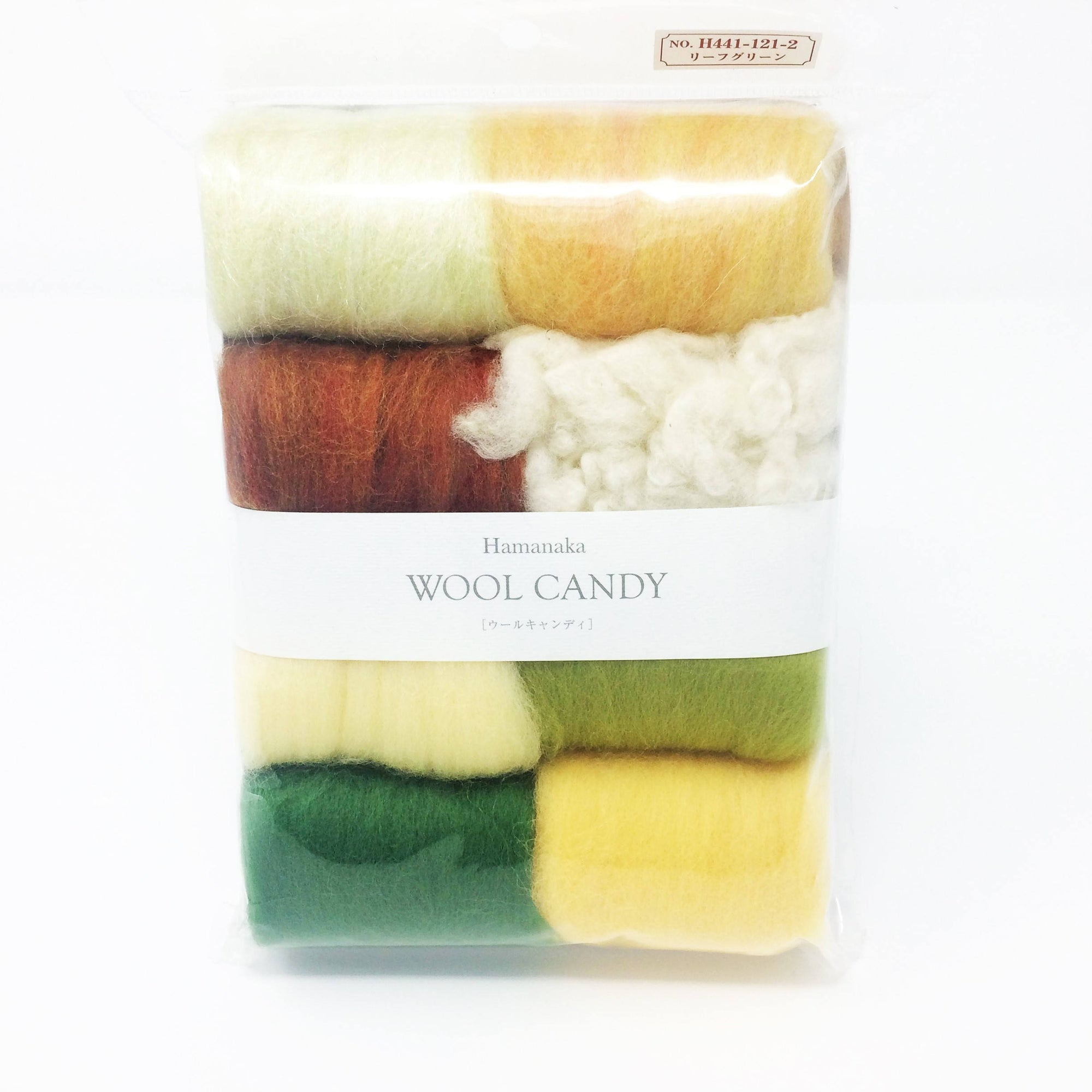 Hamanaka Wool Candy 8 Colour Set - Forest
