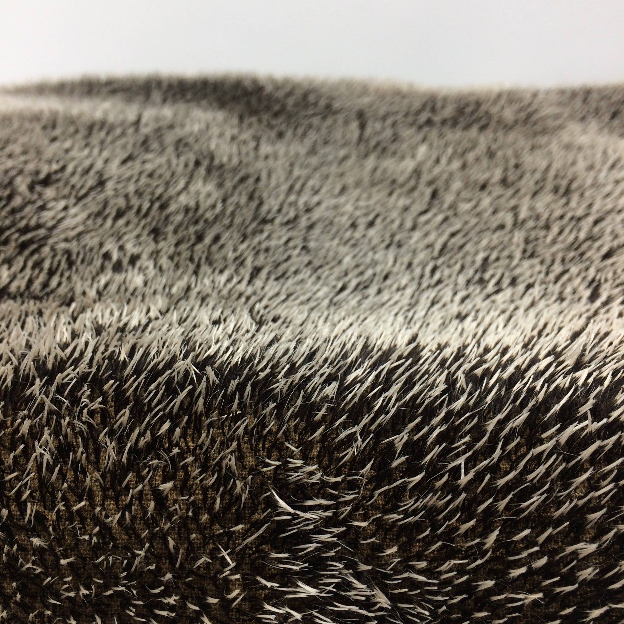 Limited time special - Realistic Hedgehog Mohair Fabric  - 12cm x 14cm | 9-10mm spikes