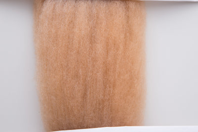 "Hamanaka Aclaine ""Natural Mix"" Acrylic Fibre - Light Brown 15g"