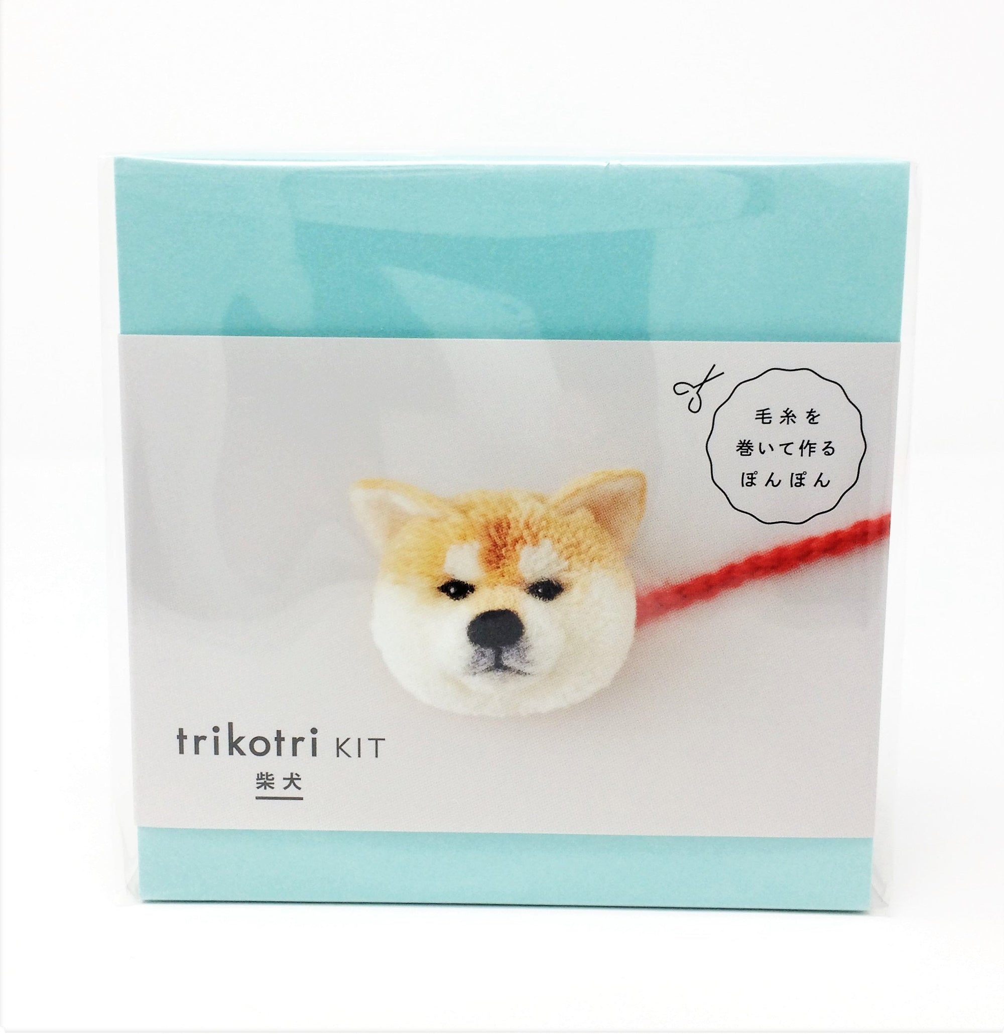 Trikotri KIT - Japanese Shiba Inu Pom Pom Kit (English)