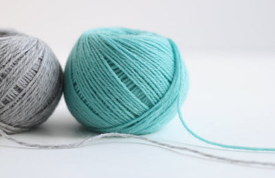DARUMA iroiro yarn - Denim Blue