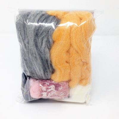 HandCrafter Needle Felting Kit -  Sweet Cute Cats (English)
