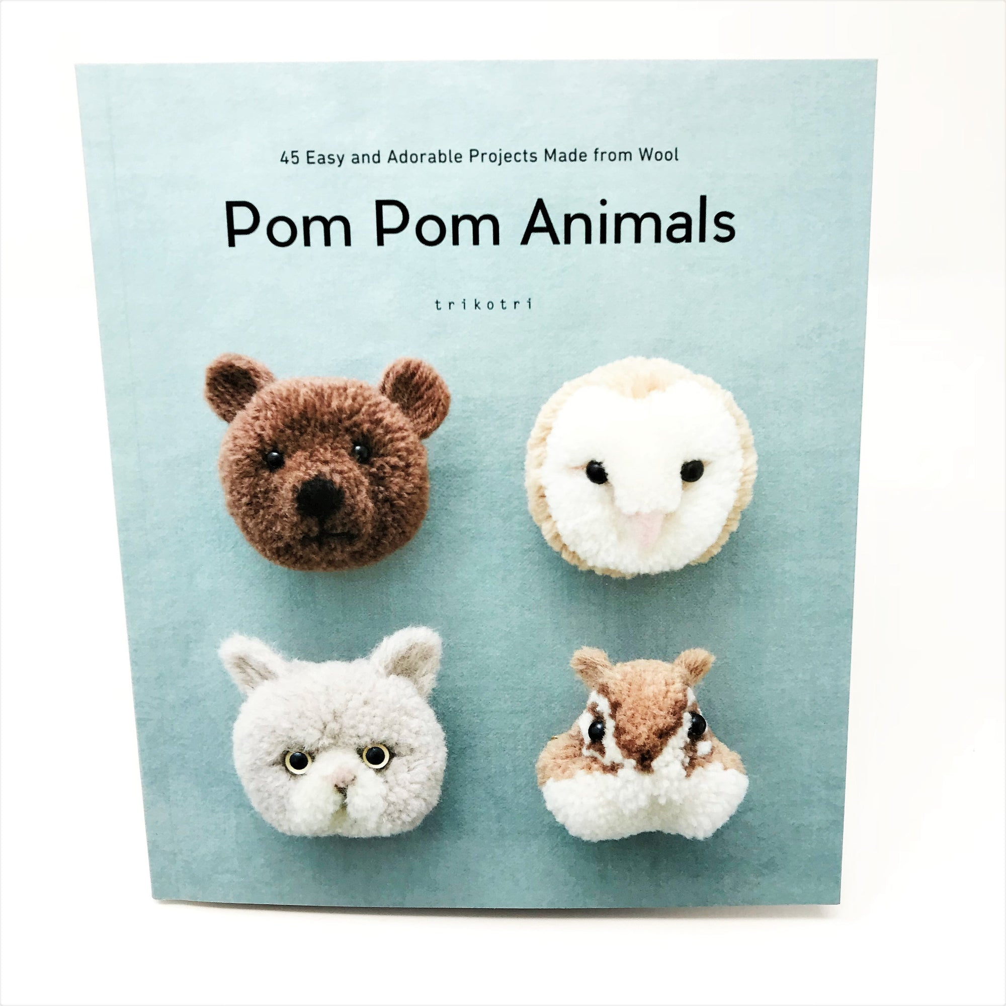 Trikotri Pom Pom Animals Craft Book- English Version
