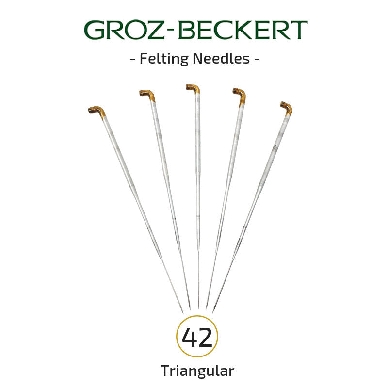 Groz-Beckert Felting Needles - 42 Gauge Triangular