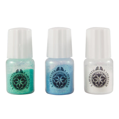 Padico Glitter Set for Resin Crafts - Blue, Green, White