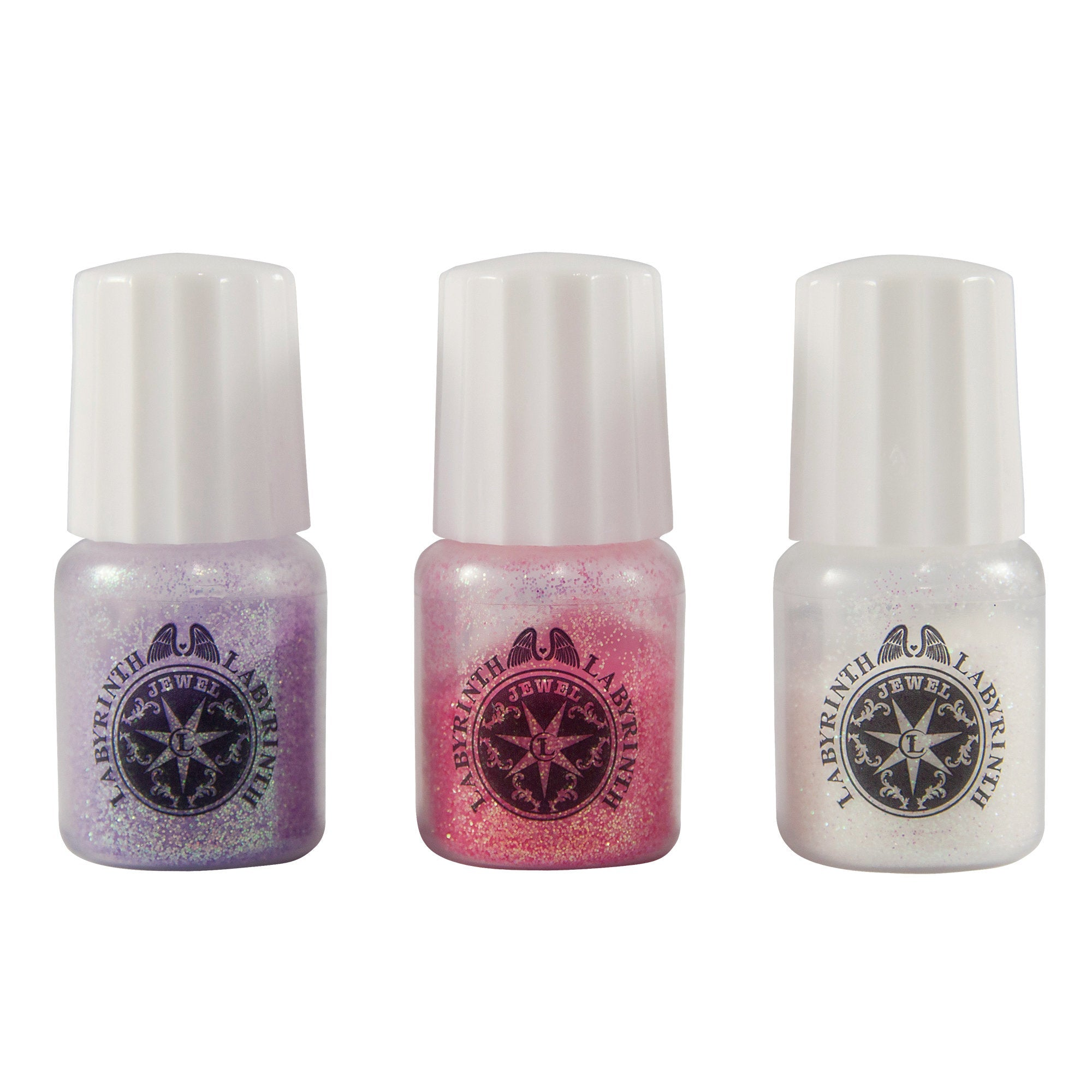 Padico Glitter Set for Resin Crafts - Purple, Pink, White