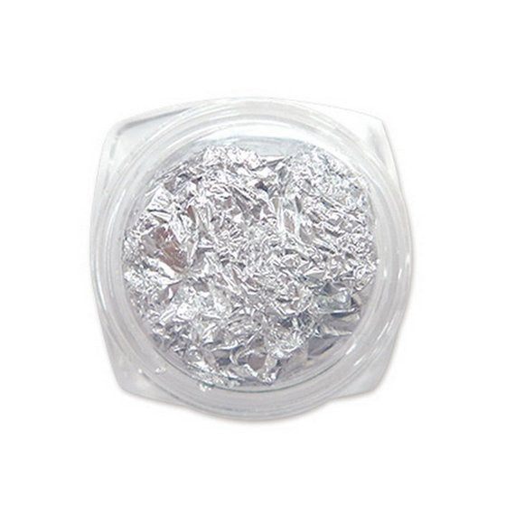 Silver Metallic Foil for Resin Craft