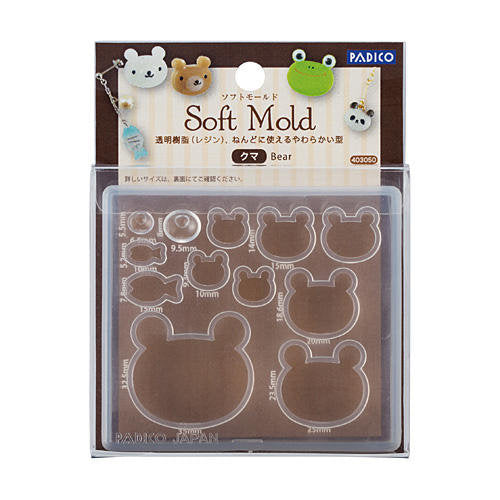 Padico Resin Soft Mold - Bears