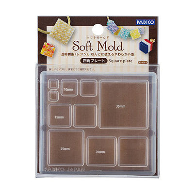 Padico Resin Soft Mold - Square Plate