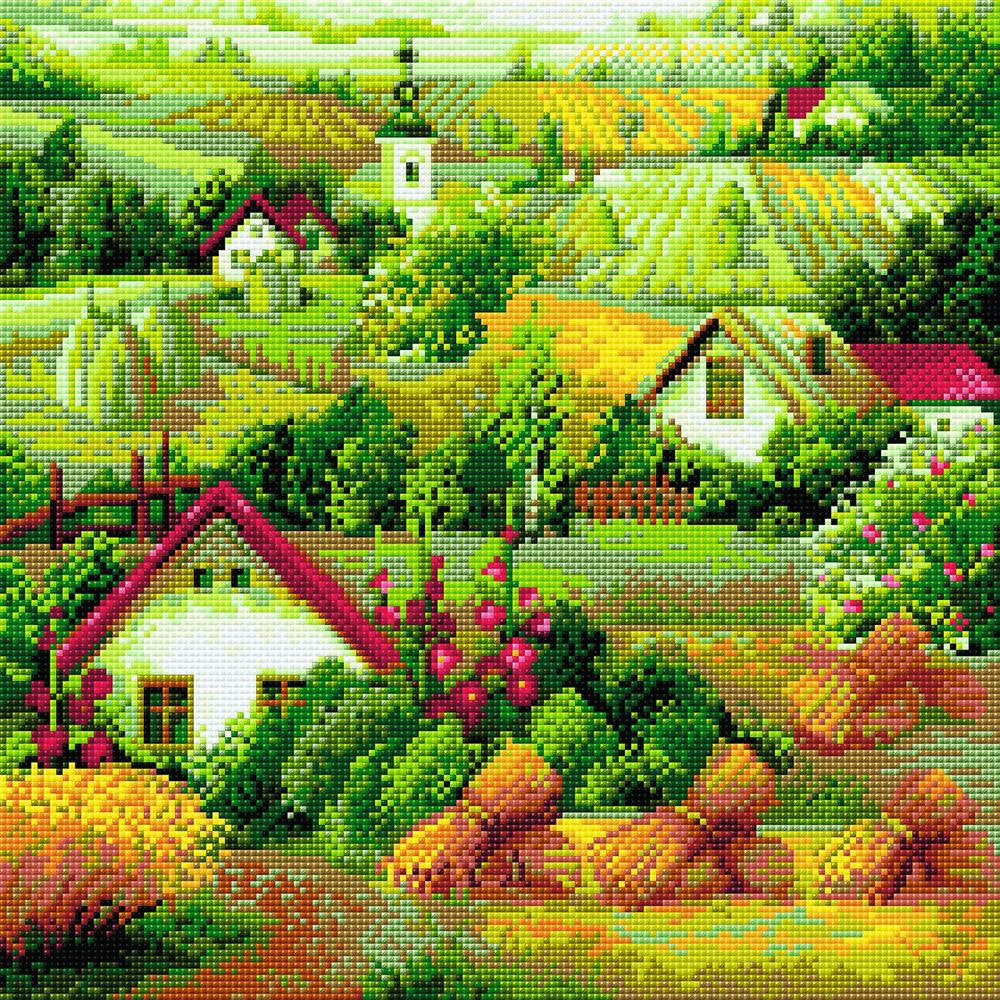 Riolis Diamond Painting Kit - Serbian Landscape
