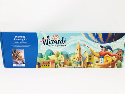Wizardi Diamond Painting Kit - Deer in Winter
