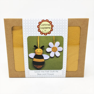 Corinne Lapierre Mini Sewing Kit - Bee and Flower