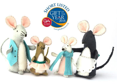 Corinne Lapierre Sewing Kit - Mouse Family