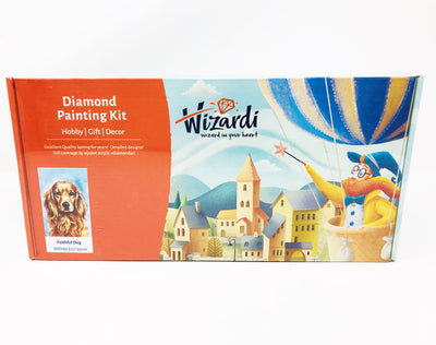 Wizardi Diamond Painting Kit - Golden Retriever