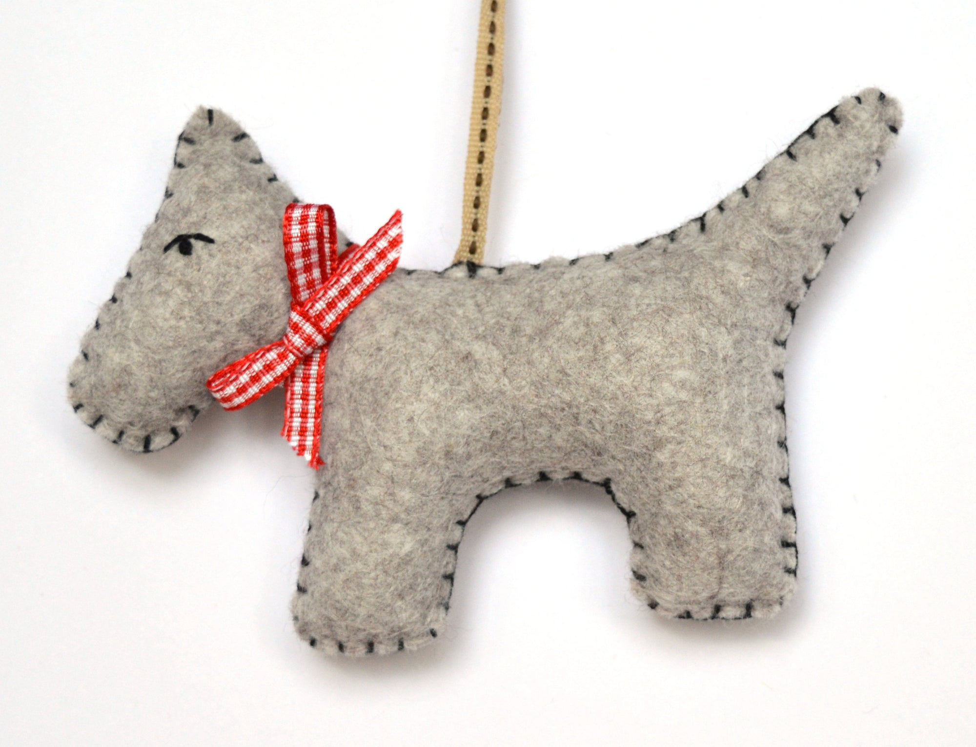 Corinne Lapierre Mini Sewing Kit - Grey Dog