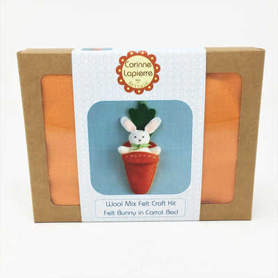 Corinne Lapierre Mini Sewing Kit - Bunny in Carrot Bed