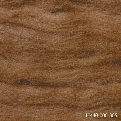 Hamanaka Kodawari Felting Wool - Dark Brown