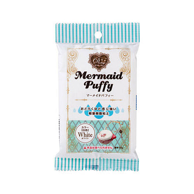 Padico Mermaid Puffy Lightweight Air Dry Clay - White 50g