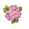 Olympus Tsumami Zaiku Flower Brooch Craft Kit  - Sakura