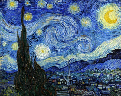 Wizardi Diamond Painting Kit - Starry Night