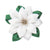 Olympus Tsumami Zaiku Flower Brooch Craft Kit  - White Poinsettia
