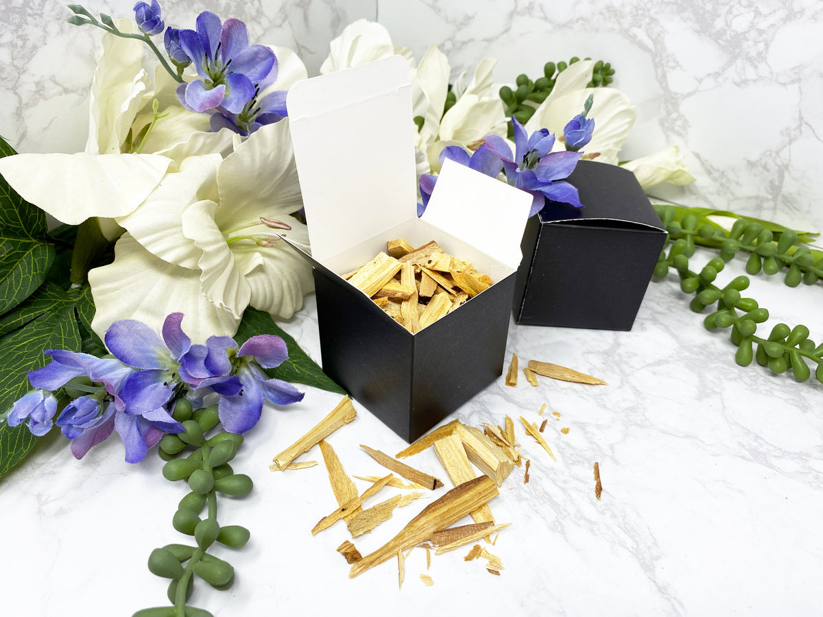 Ethically Sustainably Sourced Palo Santo Wood Chip Box