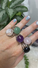 Load image into Gallery: Contempo Crystals - Adjustable Gemstone Ring - Image 2