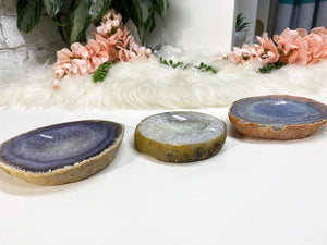 Contempo Crystals - Quartz Chalcedony Agate Crystal Ring Dishes - Image 6