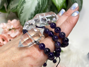 Contempo Crystals - Quartz Point Mala Bracelets - Image 9
