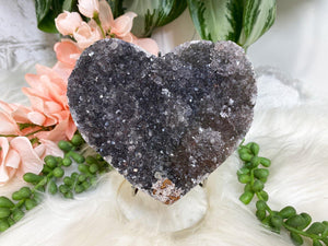 Contempo Crystals - Black Amethyst Heart - Image 3