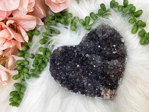 Contempo Crystals - Black Amethyst Heart - Image 4