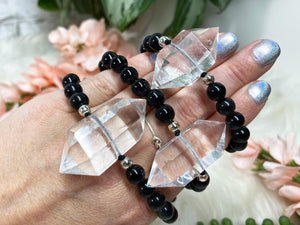 Contempo Crystals - Quartz Point Mala Bracelets - Image 1