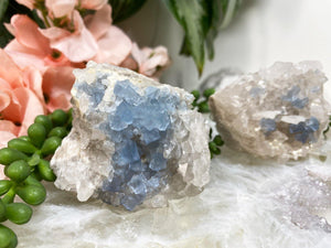 Contempo Crystals - Blue Bingham Fluorite Clusters - Image 1
