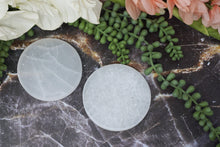 Load image into Gallery: Contempo Crystals - Round Selenite Slab - Image 7