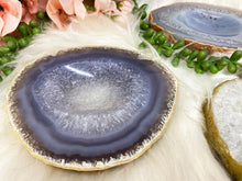 Load image into Gallery: Contempo Crystals - Quartz Chalcedony Agate Crystal Ring Dishes - Image 4