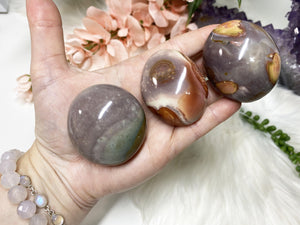 Contempo Crystals - Purple Polychrome Jasper Pebbles - Image 1