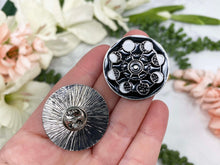 Load image into Gallery: Contempo Crystals - Moon Phases Enamel Lapel Pin from Contempo Crystals Shop - Image 2