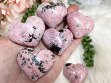 Load image into Gallery: Contempo Crystals - Rhodonite Hearts - Image 1