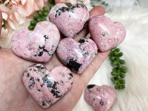 Contempo Crystals - Rhodonite Hearts - Image 1