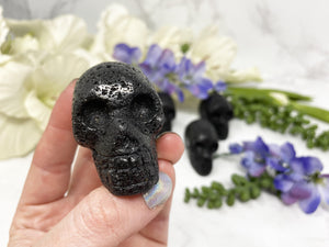 Contempo Crystals - Lava stone skull crystal. - Image 4