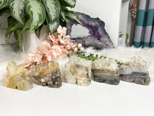 Load image into Gallery: Contempo Crystals - Large Quartz Geode Skulls - Image 1