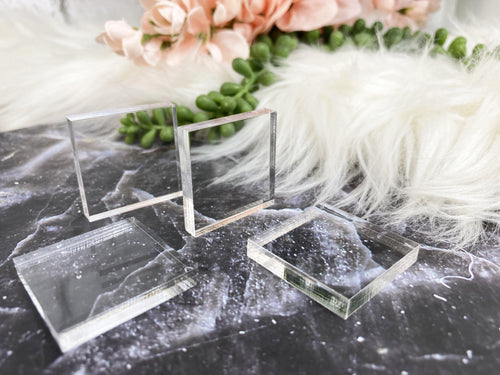 Acrylic Square Stands