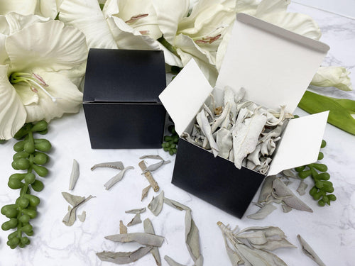 White Sage Smudge Leaves Box