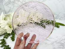 Load image into Gallery: Contempo Crystals - Pink Glass Crystal Grid - Image 3