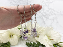 Load image into Gallery: Contempo Crystals - Quartz or Amethyst Keychain - Image 1