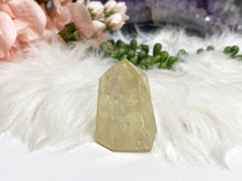 Load image into Gallery: Contempo Crystals - Iron Included Citrine Crystal Point - Image 5