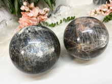 Load image into Gallery: Contempo Crystals - Gray Moonstone Spheres - Image 4